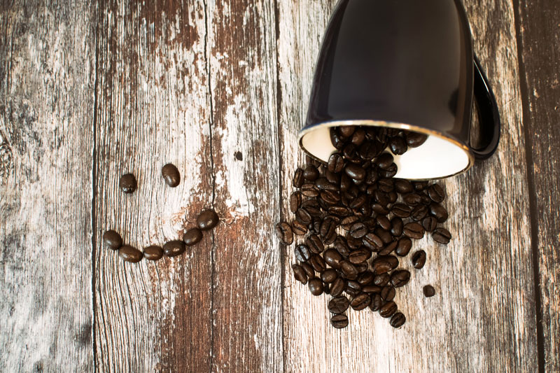 Propiedades café descafeinado