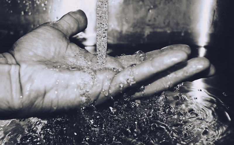 ¿Qué es el residuo seco del agua?